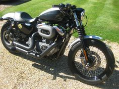Nice Harley cafe racer
