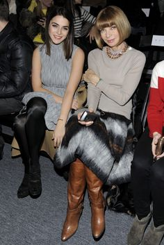 Anna Wintour's NYFW Fall 2011  Daughter Bee Schaffer at Prabal Gurung