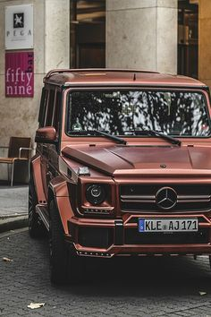 Copper Merc Truck