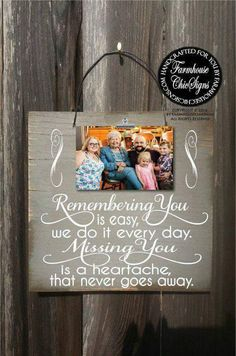 remembrance gifts, memorial gifts, in memory of, because someone we love is in… - Decor Collage Ideas Condolence Gift, Sympathy Gifts, Homemade Gifts, Diy Gifts, Vinyl Projects, Craft Projects, Wood Crafts, Diy And Crafts, Adult Crafts