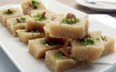 حلويات رمضانية-حلاوة السميد