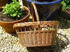 A lovely vintage wicker  French Market by KittysVintageVault, £17.00