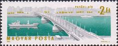 Будапештские мосты через Дунай.