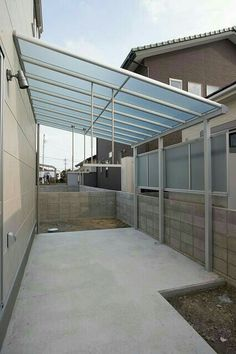 Patio Canopy, Canopy Outdoor, Outdoor Pergola, Dirty Kitchen Design, Outdoor Kitchen Design, Roof Design, Patio Design, House Design, Backyard Garden Design