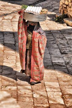 a woman at Yemen