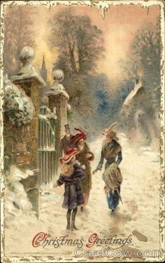 Vintage Christmas Greetings...