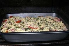 Atkins Recipes, Ww Recipes, Chicken Recipes, Cooking Recipes, Eggplant Recipes, Griddle Pan, Sheet Pan, Food To Make, Bakery