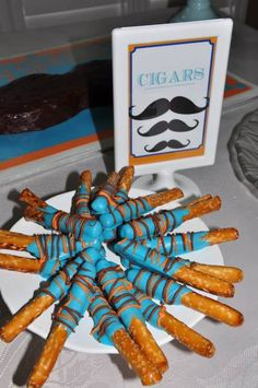 "Photo 1 of 12: Moustaches / Baby Shower/Sip & See ""Moustache Bash"" 
