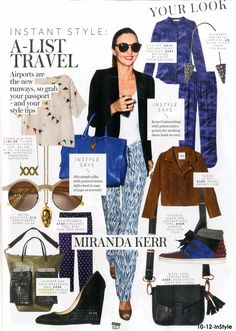 Oh we spot our Unique tote in this Instyle shopping page! #topshop #unique #press