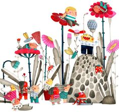 Marion Arbona Has Created a Colorful Cast of Characters