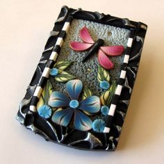 polymer clay ~ love this!  Clay by Kim