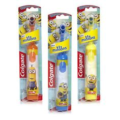 Minions-Colgate-Kids-Battery-Powered-Electric-Toothbrush-Childrens-Despicable-Me