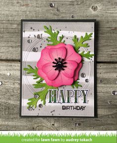 Hello and Welcome to ourJune Inspiration Week! We are showcasing Plane and Simple, PushHere, Aloha, Tiny Tag Sayings: Birthdayand Pl...