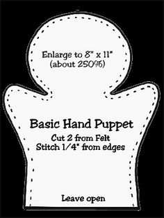 Craft felt kids finger puppets Ideas for 2019 Felt Puppets, Felt Finger Puppets, Hand Puppets, Glove Puppets, Sewing Basics, Sewing Hacks, Sewing Projects, Easy Projects, Sewing Classes For Beginners