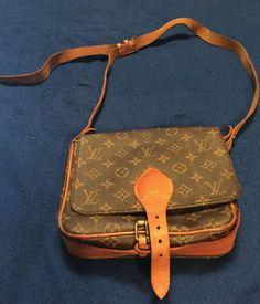 670b6f2cd72dc Authentic LOUIS VUITTON Monogram Cartouchiere MM Messenger Crossbody Bag  Vintage  fashion  clothing  shoes  accessories  womensbagshandbags (ebay  link)