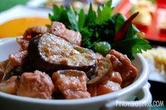Binagoongan sa Gata (Pork with Coconut Milk and Shrimp Paste