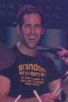 Ronnie Vannucci Jr. haha love the shirt!