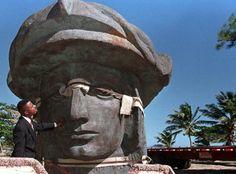 Columbus Head in Puerto Rico