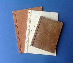 Japanese Stab Bound Books with varied bindings. Jean Kropper, Paper and Pixel