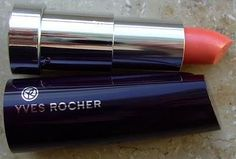 yves rocher orange hibiscus...their lipsticks are so creamy and soft on the lips!!!