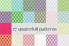 Freebie: Quatrefoil Patterns