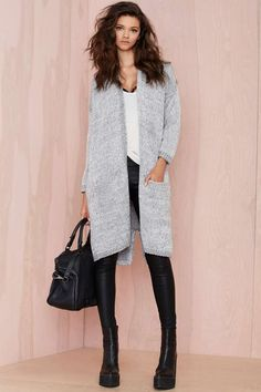Caila Oversized Cardigan - Cardigans | Cyber Monday Tops