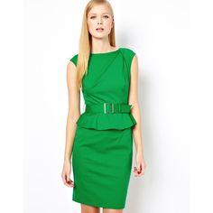 Petit4You - Vestido Verde Tubinho