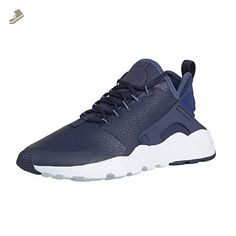 Nike - W Air Huarache Run Ultra Prm - 859511400 - Color: Blue-White - Size: 6.0 - Nike sneakers for women (*Amazon Partner-Link)