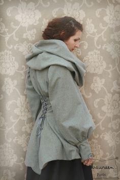 Patron manteau victorien femme