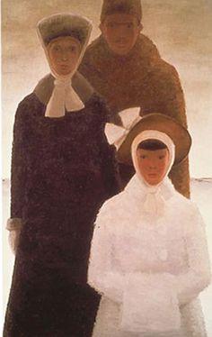 Jean-Paul Lemieux's classic painting