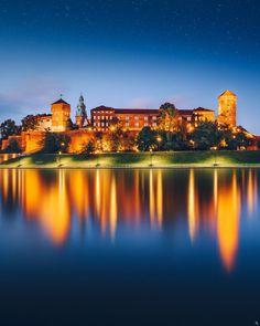 Wawel Castle, Krakow, Poland by Nickolas Koursioumpas / 500px Krakow Poland, Northern Lights, Castles, Nature, Photography, Travel, Naturaleza, Photograph, Viajes