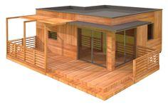 studio de jardin, HLL, maison ossature bois, bureau de jardin, HLL clés en main