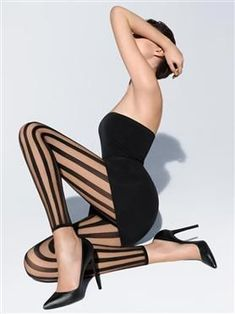 Wolford Online Shop > Tights > Bold Lines Leggings Wolford Tights, Mode Shoes, Black Milk Clothing, Patterned Tights, Stockings Lingerie, Victoria Secret Lingerie, White Lingerie, Tight Leggings, Sexy Legs