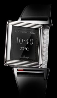 "3 Concept Smartwatches That Could Be From Popular Swiss Luxury Brands - see all the artwork and read about the ideas behind it ""For this edition of Watch What-If, we propose three possible Swiss smartwatches from popular taste-making brands. Here, we have conceptually connected digital timepieces from Jaeger-LeCoultre, Panerai, and Franck Muller by our artist Niklas Bergenstjerna..."""