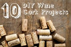10 DIY Wine Corks Projects