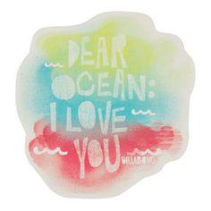 BILLABONG Dear Ocean Sticker