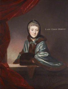 Lady Emily Caroline Nassau Hervey (1734–1814) by Johann Zoffany (attributed to), c. 1765. National Trust