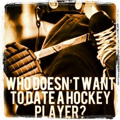 Hockey players, this one is for you!