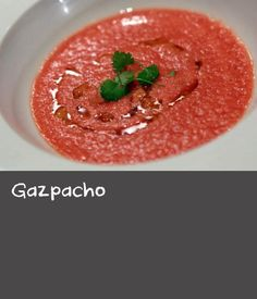 That iconic cold soup from Spain, gazpacho is a tomato-based broth filled with delicious vegetables.Top with croutons for crunch. Baked Trout, Trout Recipes, Tomato Juice, Roma Tomatoes, Gazpacho, White Bread, Spain, Soup