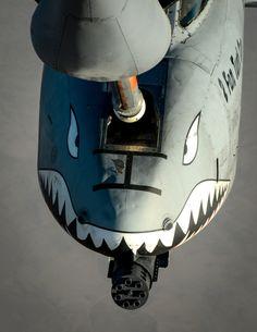 Warthog refueling