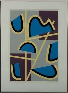 SAM VANNI, serigrafi, sign. och dat. -88, T.P.