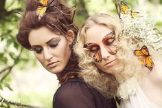 High Fashion Extreme Makeup Photography | Dax Photography Missoula Photographer