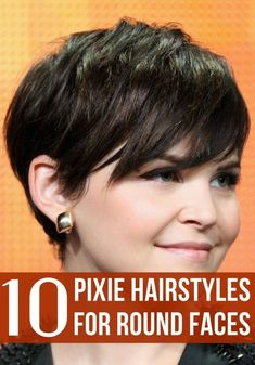 Women with round faces can also wear the pixie. If you have a round face then you should check out the list below for the best pixie haircuts right now. Pixie Cut Round Face, Pixie Haircut For Round Faces, Short Hair Cuts For Round Faces, Short Shaggy Haircuts, Short Hairstyles For Thick Hair, Round Face Haircuts, Short Hair Styles Easy, Hairstyles For Round Faces, Cool Haircuts
