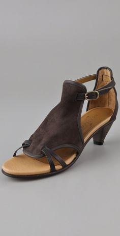e8b59d1152 COCLICO Eladio Low Heel Sandals - $360 | EVERYSTORE · Low Heel SandalsSuede  SandalsLow HeelsShoes SandalsShoe BootsComfy ...