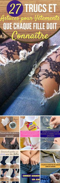 27 Trucs et Astuces sur les vêtements que chaque fille doit connaître !