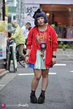 harajuku tokyo japanese street fashion ・原宿女ファッション