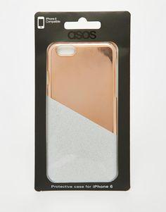 Bild 4 von ASOS – Glitzernde Metallic-Hülle für iPhone 6 und 6
