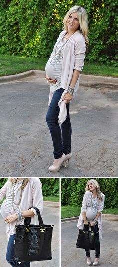 cute maternity outfit