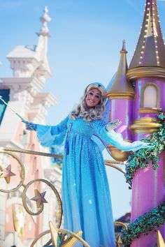 The Blue Fairy from Pinocchio.