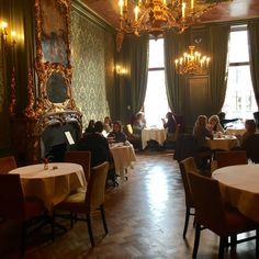 Wonderful classy restaurant in Museum of Bags and Purses 'Hendrikje', Amsterdam.  Herengracht 573, Amsterdam.